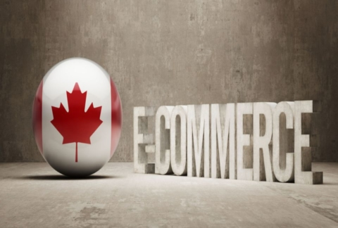 E-commerce web design in Canada.