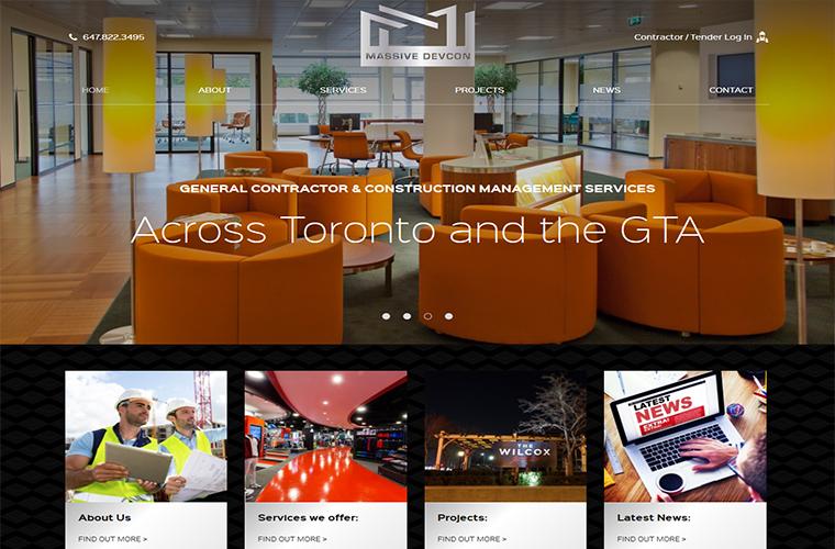 Massive Devcon website