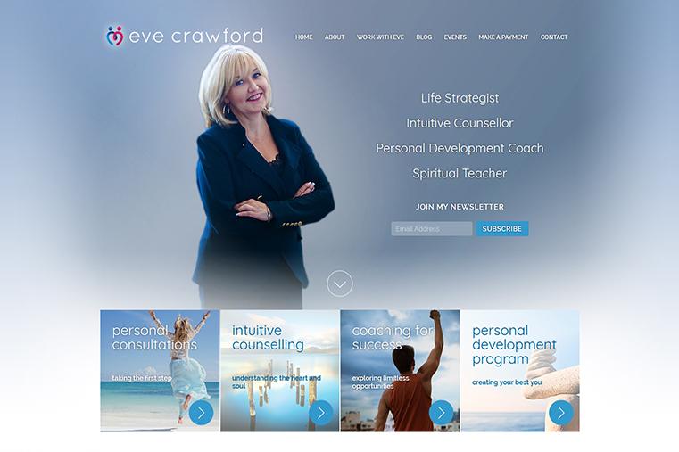 Eve Crawford web design