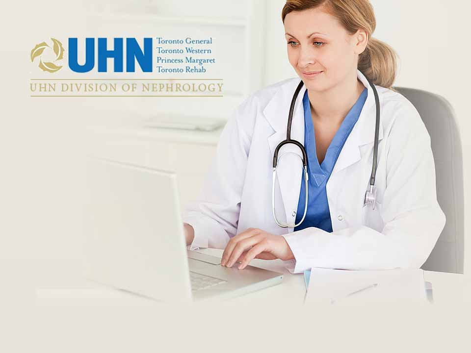 The online leaning portal for UHN in Toronto