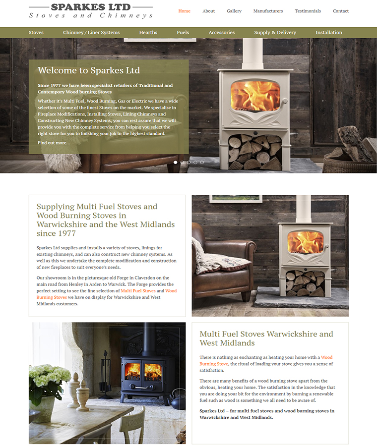 Great lifestyle images of wood burning stoves.