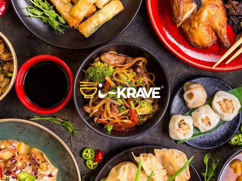 The IKrave online Chinese food ecommerce website