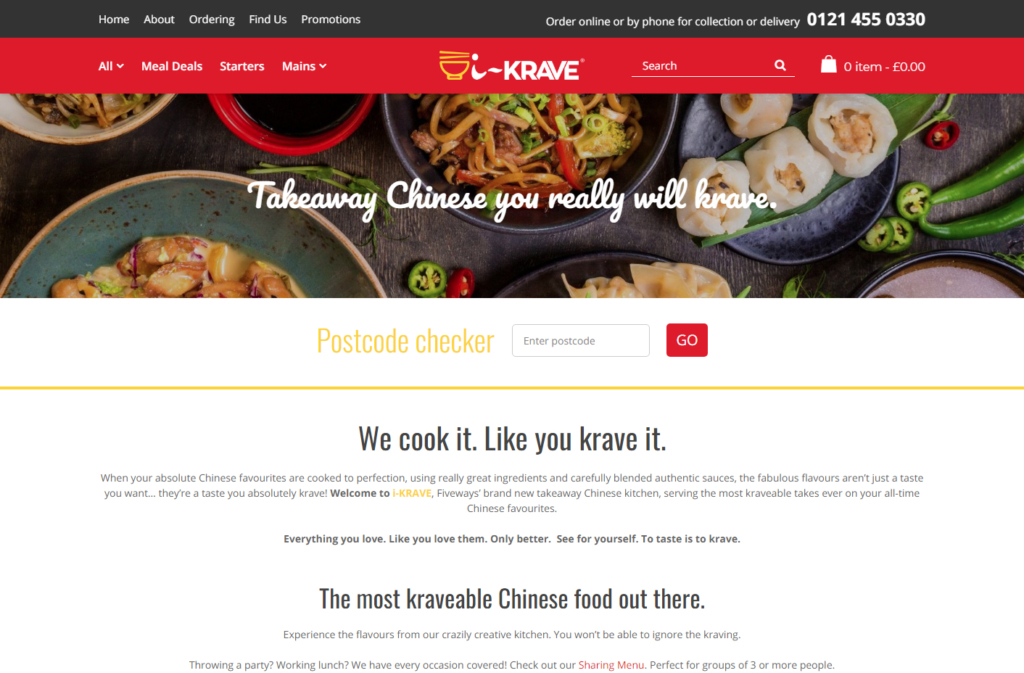 Home page of IKrave website