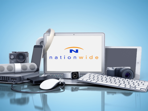 Electronic items galore on the Nationwide website.