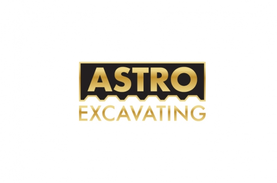 Astro Excavating Logo