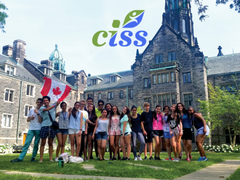 CISS Canada location in Toronto with group of students