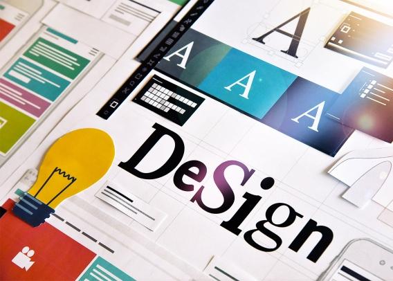 Graphic design layouts