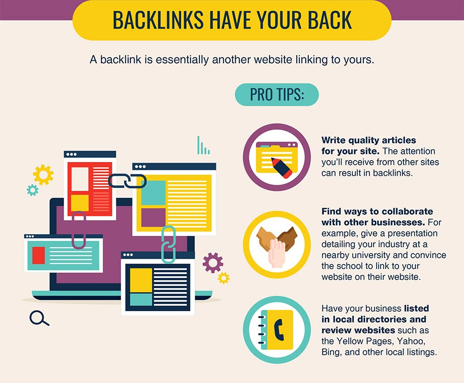 Local SEO Backlinks have your back