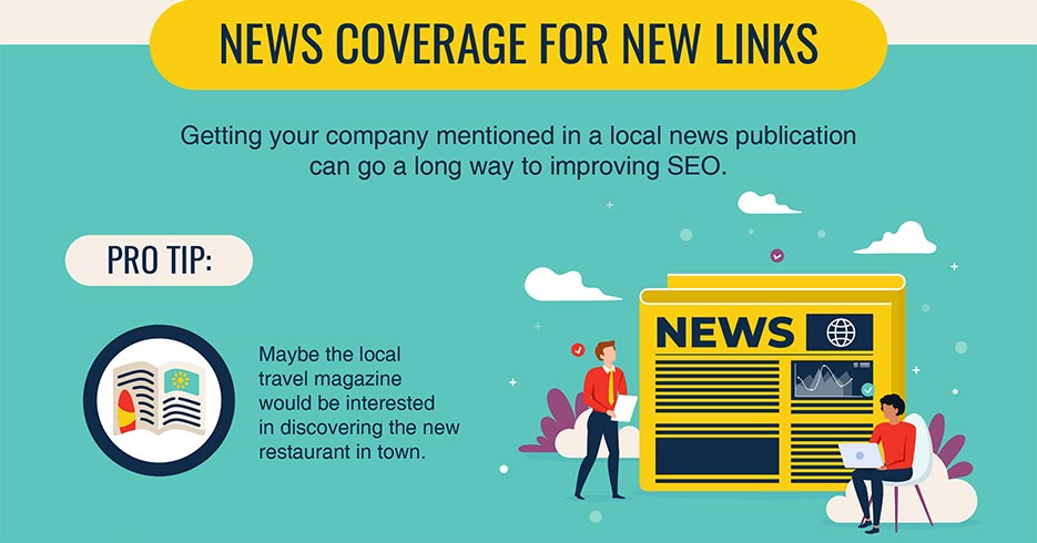 Local SEO News coverage for new links