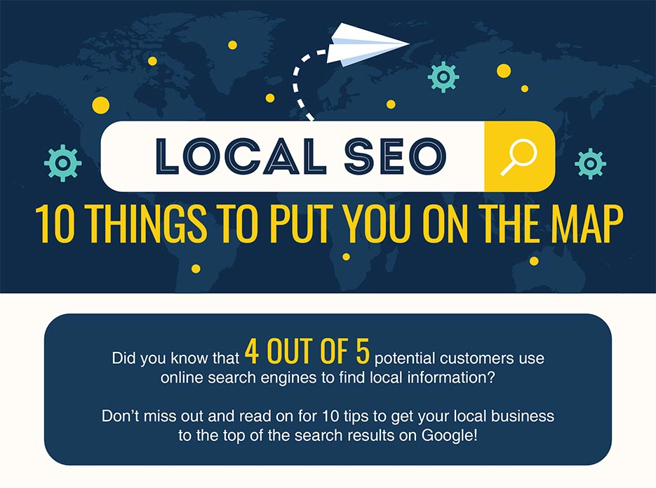 Local SEO Ten things to put you on the map