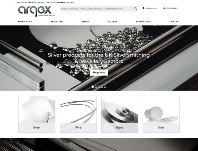 Silver products for jewellery makers